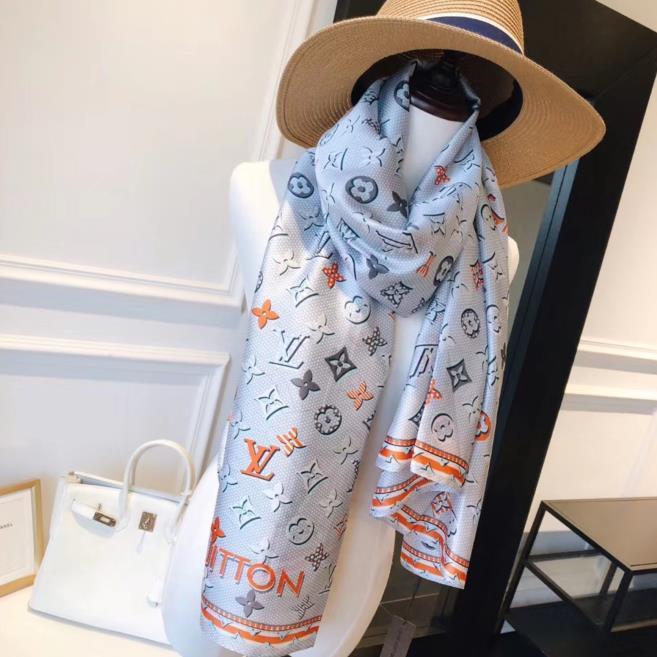 Bufanda de seda del verano para las mujeres para hombre caliente de la tela escocesa bufanda de la manera de las mujeres imitan las bufandas lana de cachemira 180x90cm envío libre
