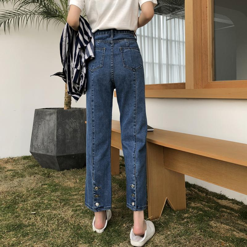 Cheap Wholesale 2019 New Spring Summer Hot Selling Women's Fashion Casual Denim Pants NC32