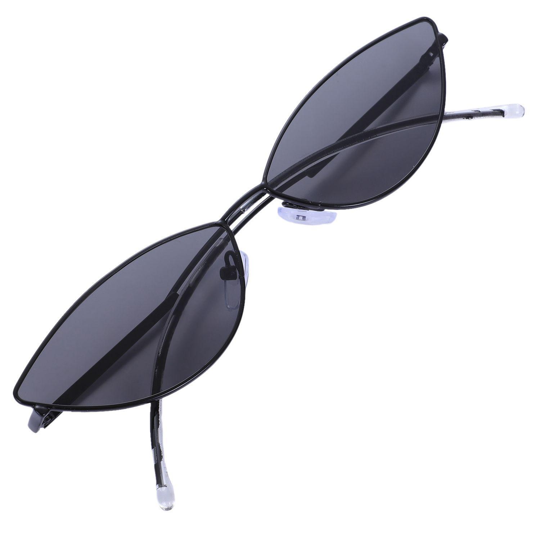 oeil de chat rétro sexy mignon lunettes de soleil lunettes de soleil oeil neutre petit chat noir rouge pour les accessoires d'été neutre UV400