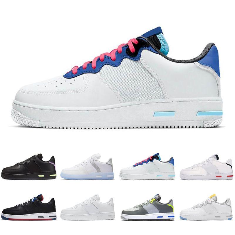 2020 new react 1 men women running shoes Light Bone White Black Red Smoke Grey USA outdoor mens womens trainers sports sneakers runners