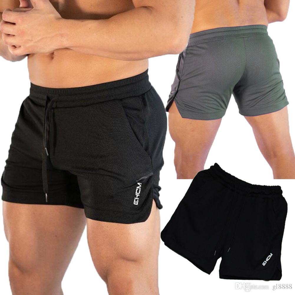 남성 여름 통기성 반바지 수영 체육관 스포츠 캐주얼 짧은 바지를 실행