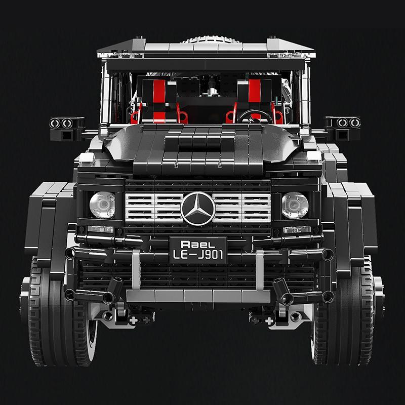 3300pcs Benz Off-road CRUISER 6x6 LAND compatível com legoings Technic Cidade Criador Building Block Bricks brinquedos para as crianças