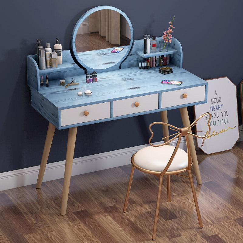 Modernes minimalistisches Schlafzimmer-Lagerschrank ein nordischer Make-up-Tisch Net Red Makeup