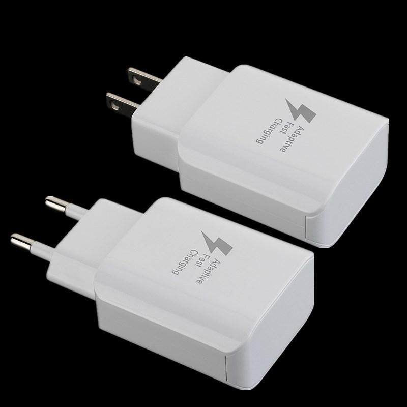 5V 2A Eu США Ac дома стены Адаптер зарядного устройства для Самсунга s6 s7 s8 D5 телефон андроид