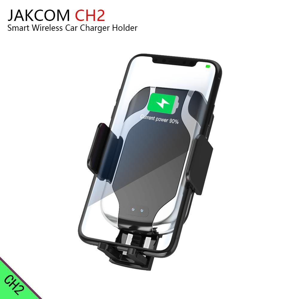 JAKCOM CH2 Inteligente Cargador de Coche Inalámbrico Soporte de Montaje Venta Caliente en Soportes para Teléfonos Celulares como dispositivo para mujer reloj smartwatch u8