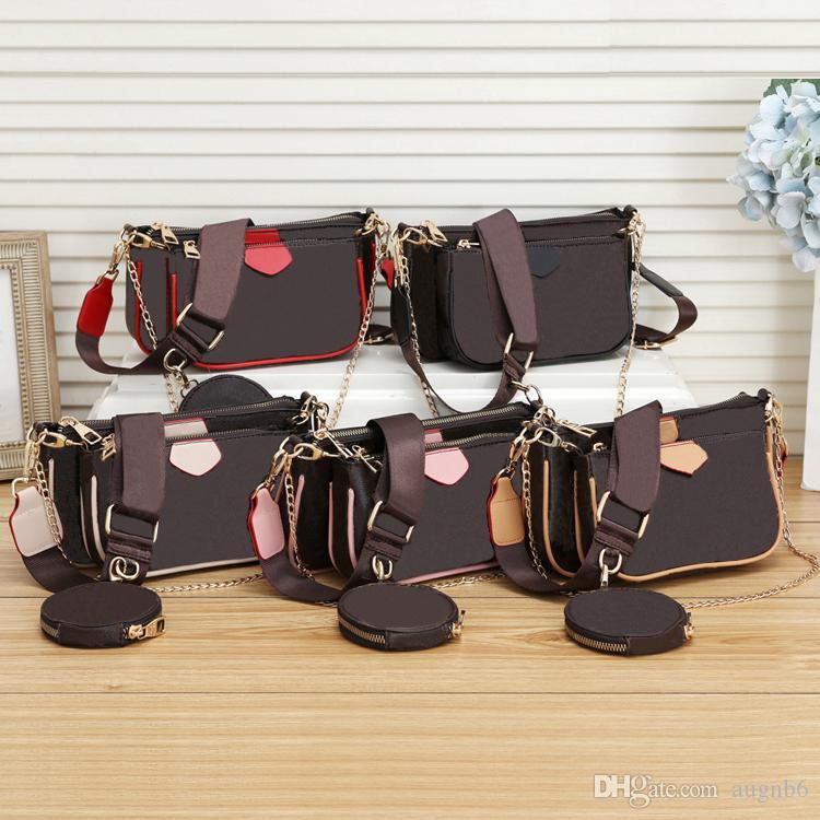 2020 New ausgezeichnete Qualität Art und Weisefrauen Luxus Taschen Dame PU-Leder-Handtaschen Marke Taschen-Geldbeutel-Schulter-M Einkaufstasche weiblich # 8811