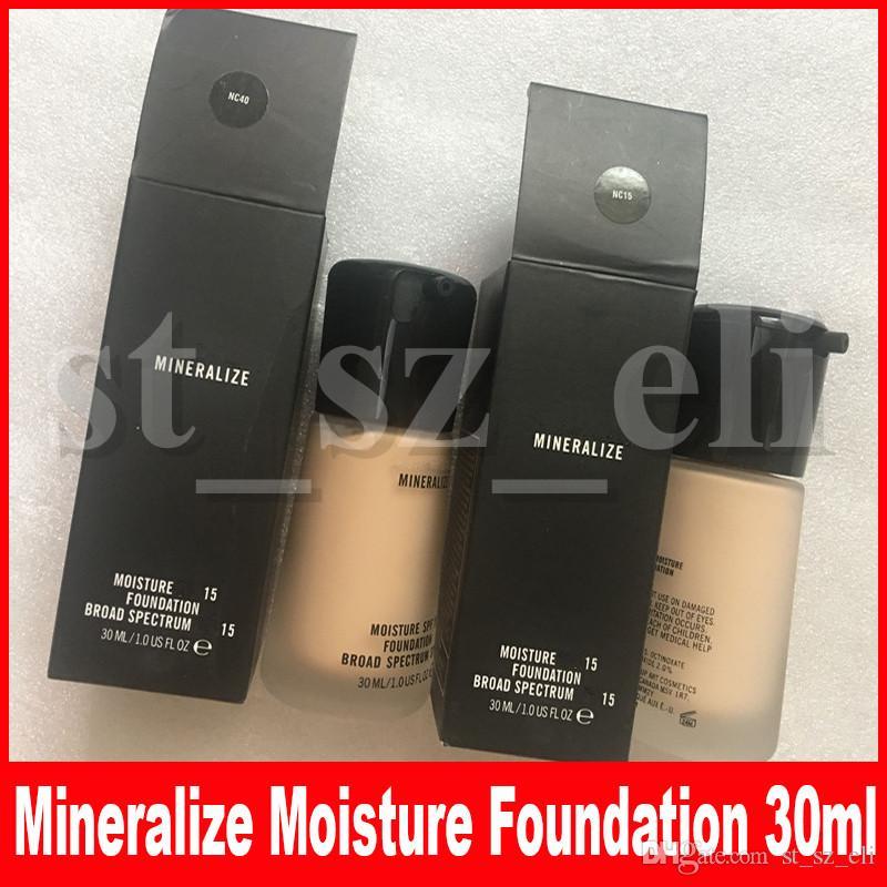 M Face Makeup Mineralize Moisture Liquid Foundation Concealer 30ML Broad Spectrum NC15 NC20 NC25 NC30 NC35 NC40