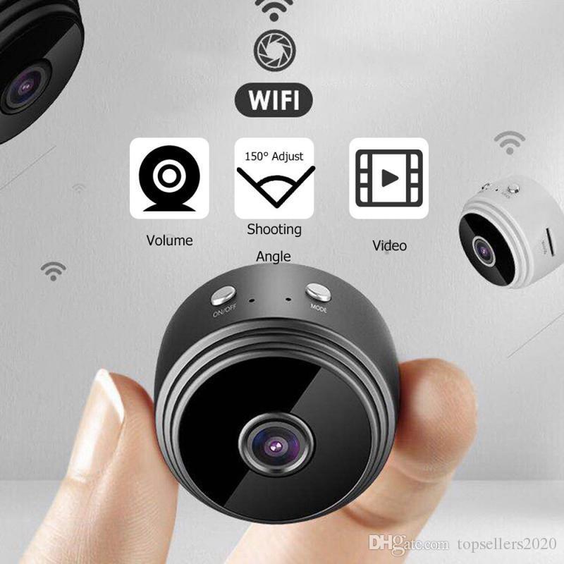 1080p Full-HD Mini WIFI Noche Cámara IP Wireless Mini videocámaras Interiores Seguridad Visión móviles de detección de alarma remota