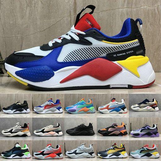 Hombres Mujeres Puma RS X Toys Reinvention Running System Blanco Negro Azul  Rojo Amarillo Dad Shoe Zapatillas De Deporte Atléticas Jogging Sports ...