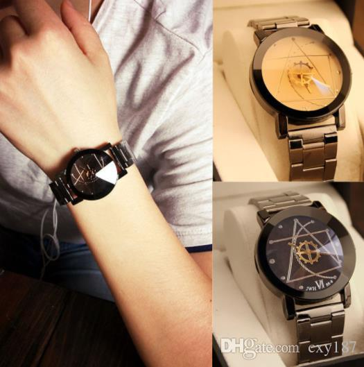 Quartz Wristwatches Luxury Watch Fashion Stainless Steel Watch for Man Quartz Analog Wrist Watch Orologio Uomo Hot Sales Free Shipping