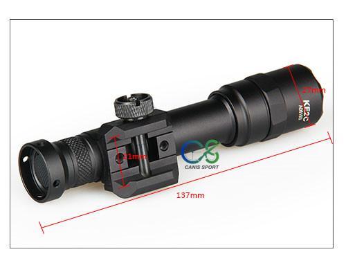 TRIJICON Luz M600B táctica LED de luz linterna táctica para la caza de disparo gs15-0077 deporte al aire libre