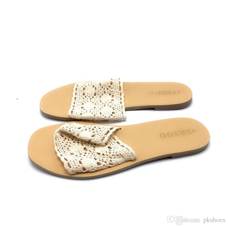 2019 womens andals cream laces hot fashion shoes with eva bottom heeled sandal platform open toes hot sale version