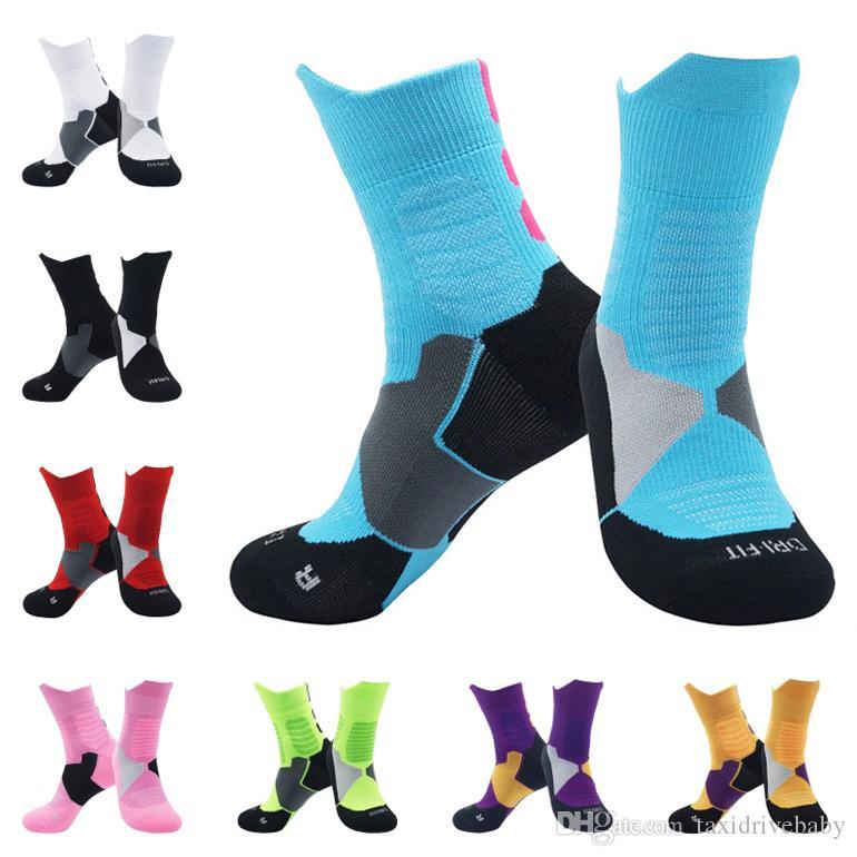 Outdoor Basketball Socks Breathable Sports Socks Non-Slip Running Hiking Socks