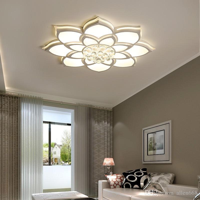 خواتم الإبداعية الجديدة بقيادة الحديثة ضوء السقف لغرفة نوم غرفة المعيشة دراسة غرفة الرئيسية في الأماكن المغلقة السقف الصمام ضوء الثابت AC90V-260V