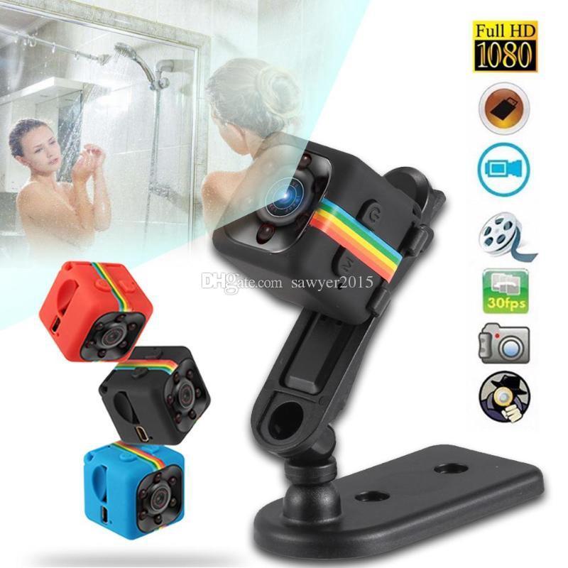 SQ11 كاميرا مصغرة HD 1080P الاستشعار للرؤية الليلية كاميرا الفيديو الحركة DVR مايكرو كاميرا الرياضة DV DVR فيديو كاميرا صغيرة SQ 11