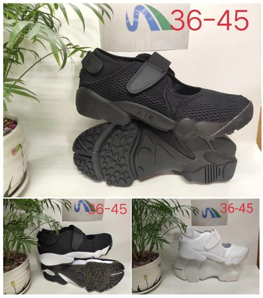 el envío libre de calidad superior caliente hombres y mujeres AIR RIFT zapato de zapatos para hombre de Ninja tamaño sandalia Mujer Hombre 36-45