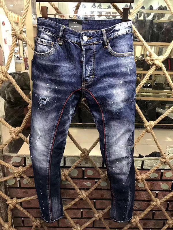 2020 para hombre apenada rasgado Moda Hombres Vaqueros ajustados vaqueros de diseño delgado de la motocicleta de Moto del motorista causal para hombre Pantalones Denim Jeans Hombres de Hip Hop