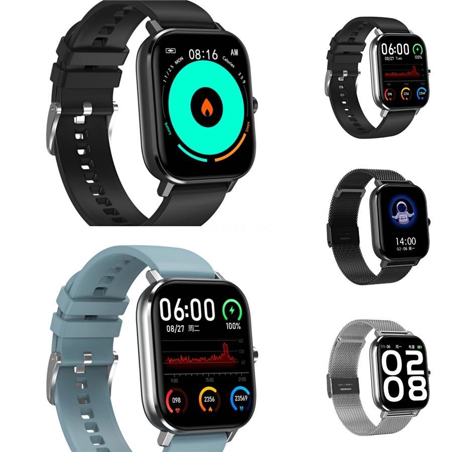 ZL01 DT-35 Smart Watch Männer Frauen Herzfrequenz-Blutdruckmessgerät Wettervorhersage Music Control Call Reminder Ip67 Wasserdicht # QA96833