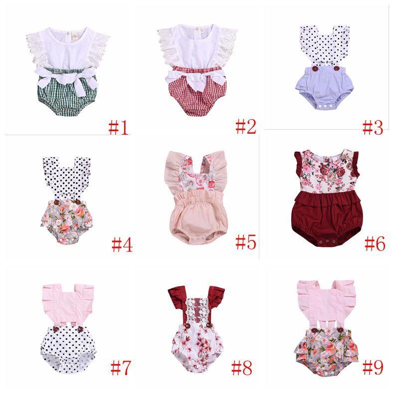 ملابس فتيات صغيرات ملابس أطفال ملابس أطفال رعاة بقر صيفية لباس مثلث منقوش بدون أكمام ملابس جميلة بي 616