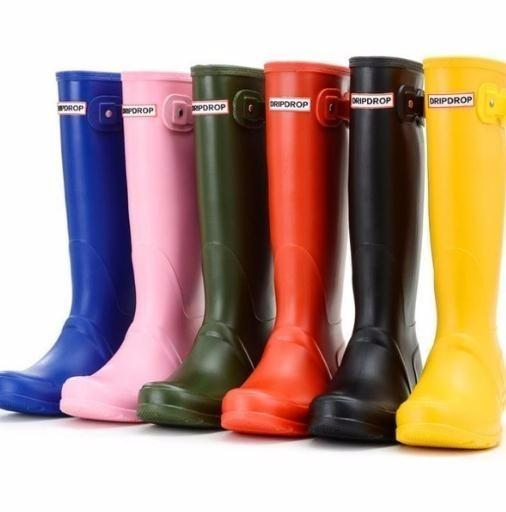 2019 Brand Womens Waterproof Rubber Rain Boots Wellies Wellington Boots 8 Colours From Jerry10, $75.38 | DHgate.Com