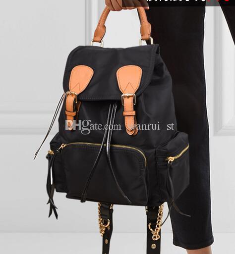 Kostenloser Versand!!! Neue Marke Rucksack Designer Rucksack Handtasche hochwertige zweifarbige Nähte Rucksack Schultaschen Outdoor Tasche frei shippin
