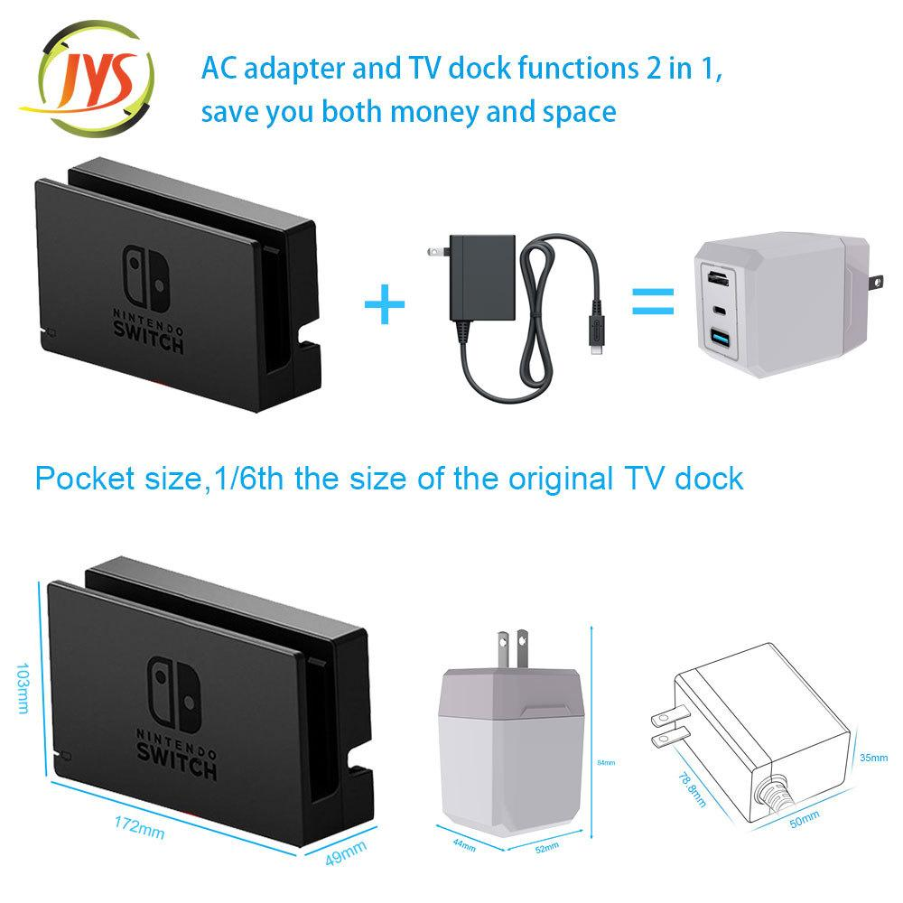 Game Console Charger Switch Fire Bull Base Support Host Charging Switch TV Mode Support Android Mobile Phone Screen