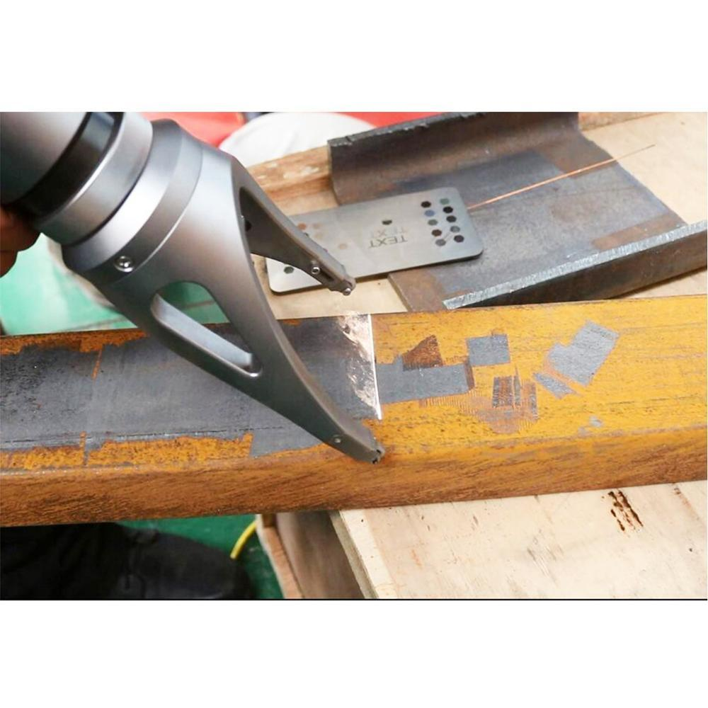 Chinese fiber optic laser cleaning cleaning good quality rust oil dust oxides for metal Stone