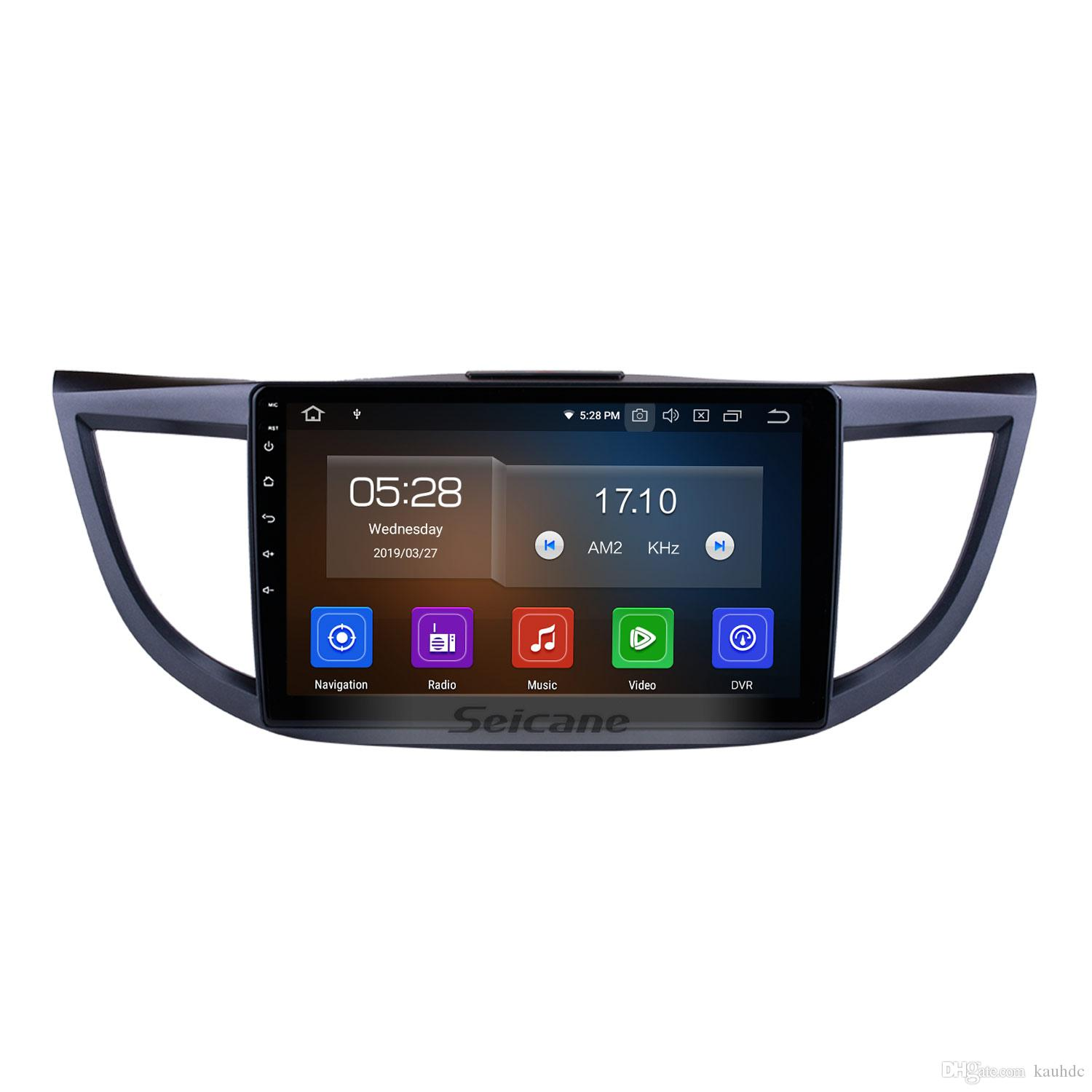 10.1 Inch Android 9.0 Car Radio for 2011-2015 Honda CRV high version with Bluetooth GPS navigation WIFI support Car dvd Rear camera 3G 1080P