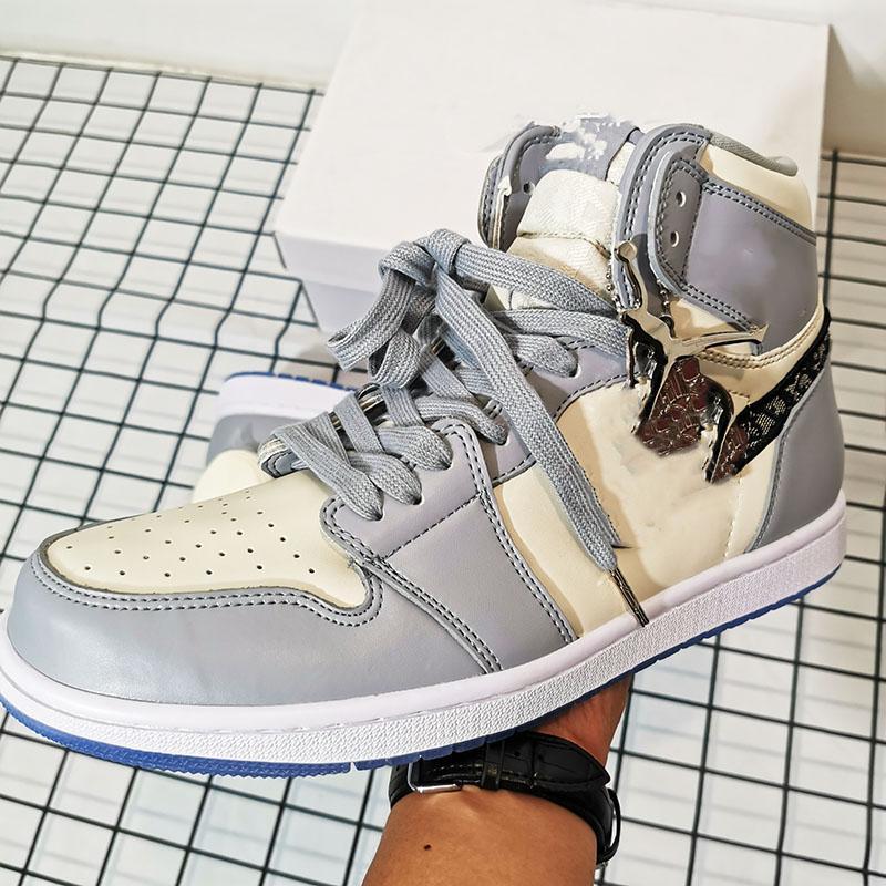 Acheter Pas Cher Dior X Air Jordan 1 High O ETUI New Kids Tn Plus ...