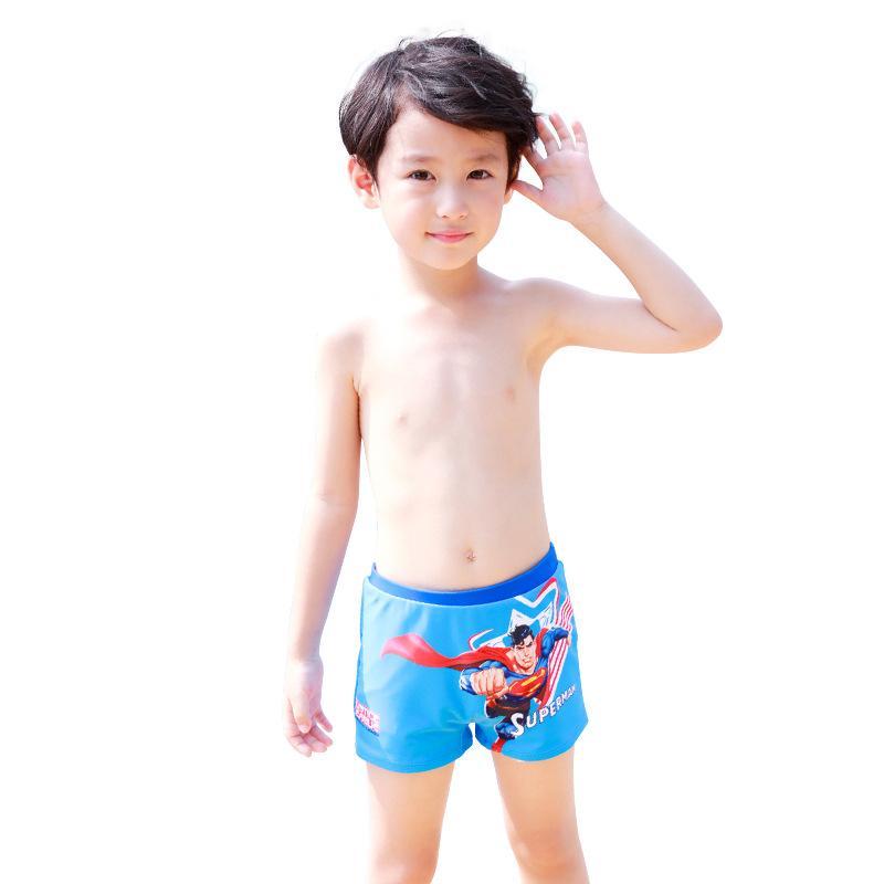 Crianças Swimwear troncos Kid Crianças Meninos dos desenhos animados Imprimir trecho de praia maiô calças curtas adequado para 3-12 anos