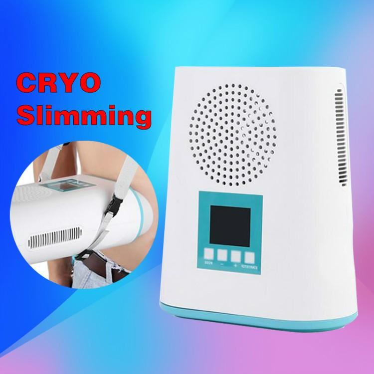 Mini machine Cryolipolysis / cryothérapie Machine de congélation du corps Slimming Machine / graisse portable cool mini vide Poids machine perte