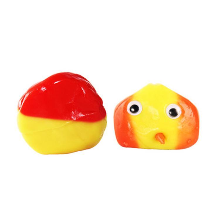 Handgum wärmeempfindliche magnetische Gummi Schlamm Hand Gum Silly Putty Magnet Lehm Knetmasse Temperaturänderung Turns Farblicht HN350 Mud