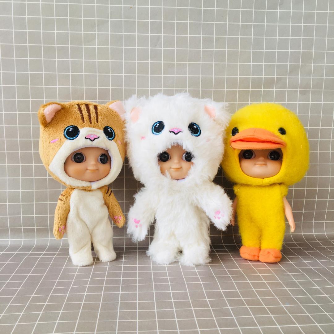 Maquillaje especial oferta de venta IXDOLLS muñecas Blyth con la ropa, ojos grandes cabezas de patos tigres de fábrica al por mayor de elefante adecuada