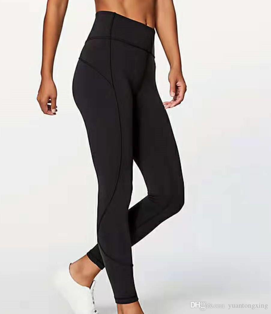 Leggings Koşu Kadınlar Yoga Kıyafetler Bayanlar Spor Tam Tozluklar Bayan Pantolon Egzersiz Fitnes Giyim Kız Marka