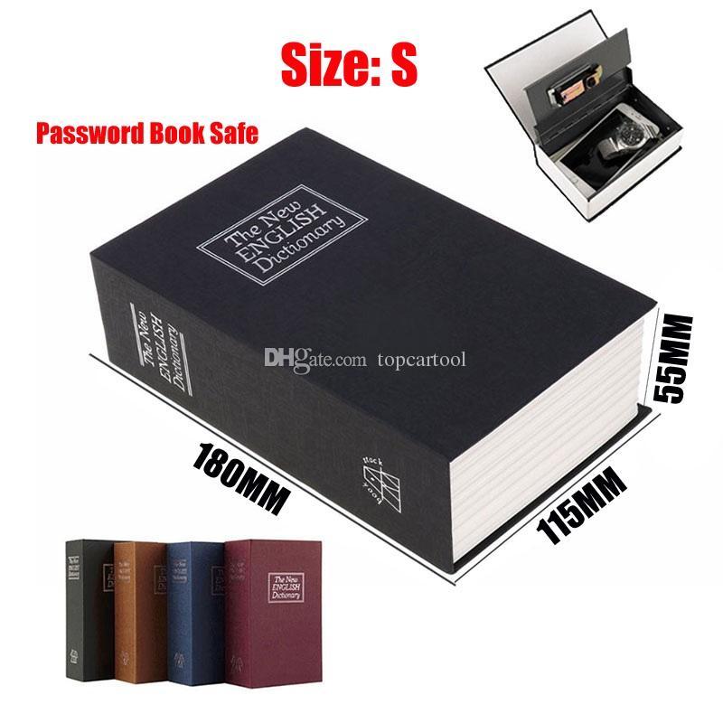 TCT 1pc Safe Box Piggy Bank Secret Book Case For Coin Money Stash Security Hidden Safes Cashb Storage Jewellery Digital Password Locker