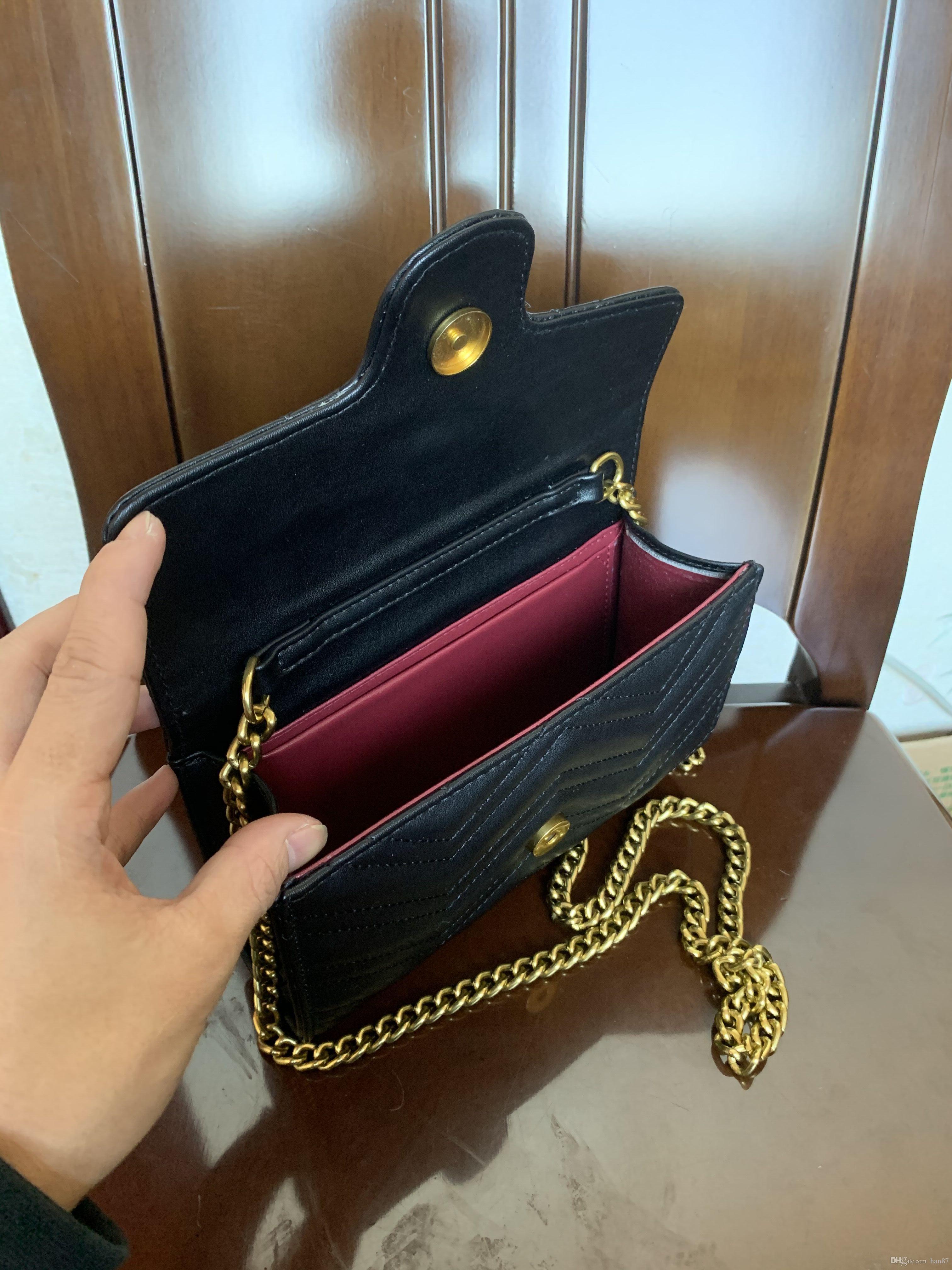 Sacs à main à la mode à l'épaule chaude 19cm Cuir pour sacs vintage Designer Femmes et sacs Portefeuilles Bandbody Sale Cixom