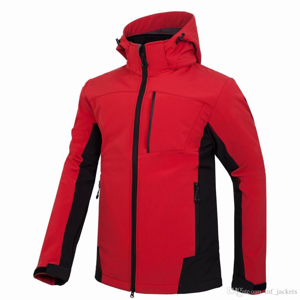 2019 New Outdoor Waterproof SoftShell Jacket Hunting Windbreaker Ski Coat Hiking Rain Camping Fishing Tactical Clothing Men Women Ladies Leather