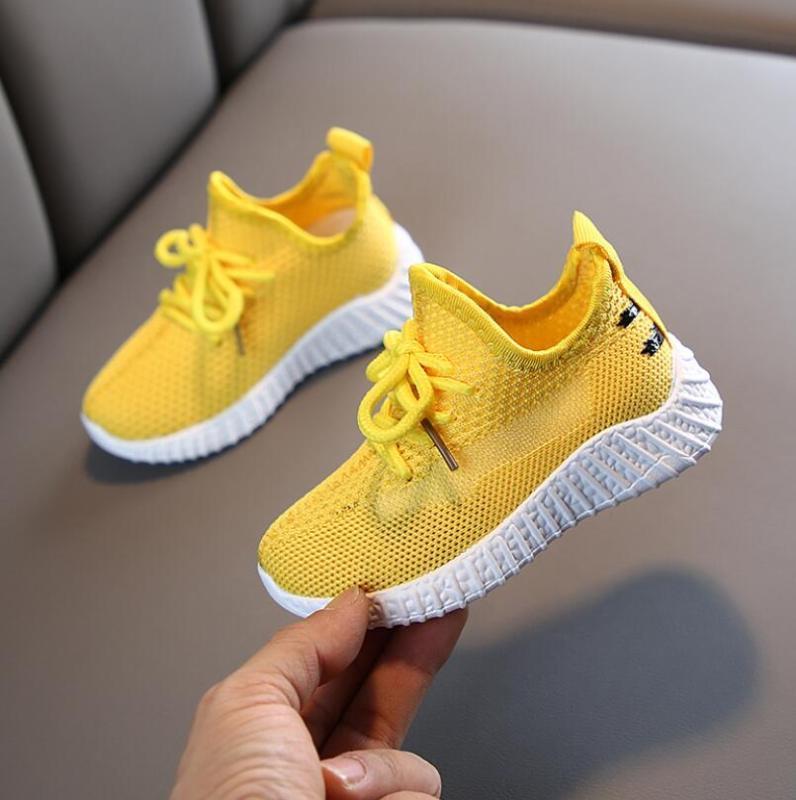 Çocuklar Ayakkabı 2020 Bebek Ayakkabı Çocuk Beyaz Moda Çocuk Yumuşak Alt Deri Spor Sneakers İçin Bebek Sevimli Koşu