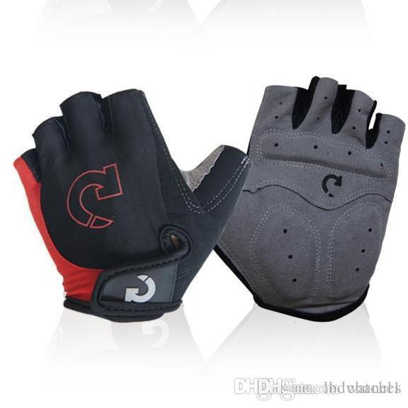 Gloves for riding men and half fingers bicycle gloves for summer mountain bike s outdoor gloves2018