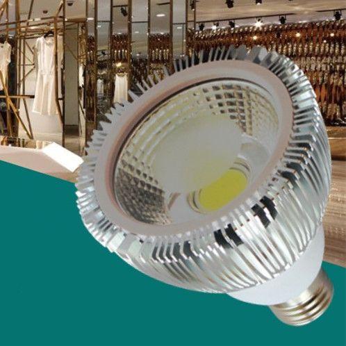 LED PAR 30 38 E27 COB-Scheinwerfer-Licht 20W 7W AC85-265V 100LM Aluminium Par38 Par30-Birnen-Lampe Innenbeleuchtung Direkt aus Shenzhen China
