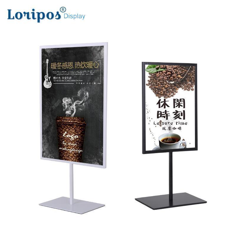 A3 / A4 Metal Poster Stand Mesa Menu Stand Desktop Promoção Billboard Cartaz Suporte De Metal Foto Titular Rack de Imagem Quadro de Banner