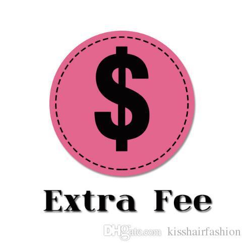 Taxa extra para Personalização Comprimento Estilo envio Fee
