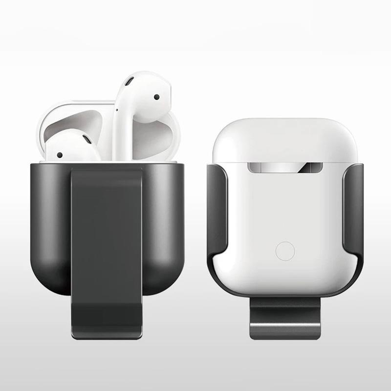 Titolare di archiviazione manica Wireless auricolari Per aria Pod appeso sulla vita auricolare per il caso di AirPods cinghia di auricolari per il caso di AirPods di Apple