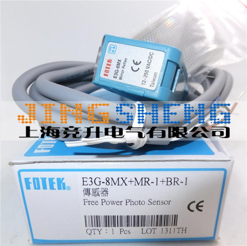 B3G-8MX FOTEK Original & New Photoelectric Switch Sensors B3G-8MX+MR-1+BR-1