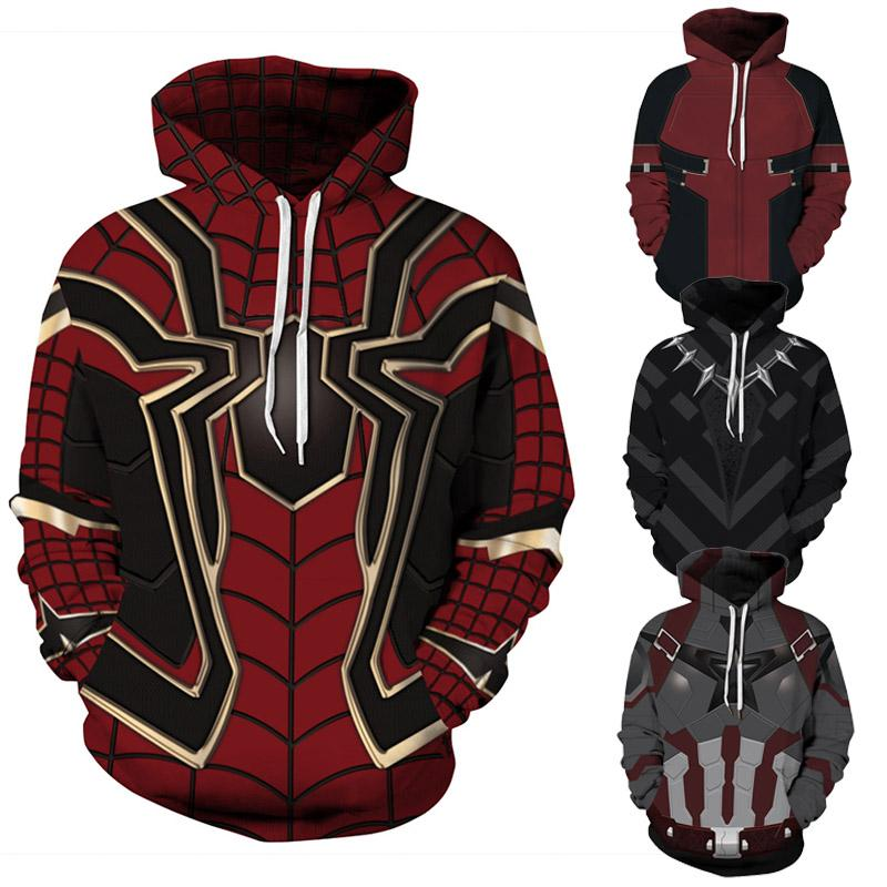 designer tracksuit men s clothing Avengers printer hoodies for teens Casual Long Sleeve 3d hoodies men hoody sweatshirt Cosplay Costume