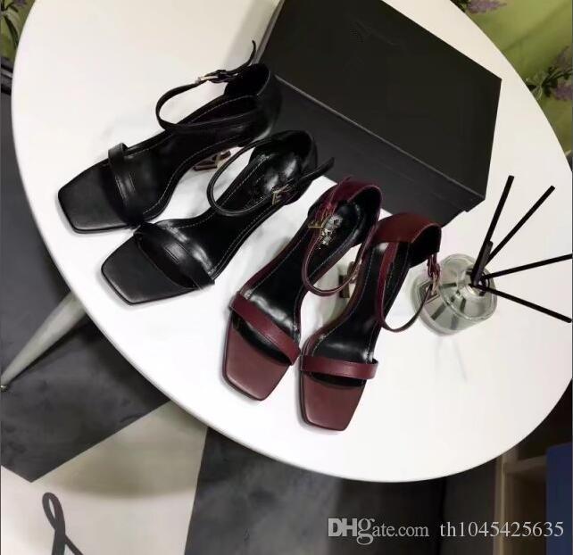 caffè donne sandali gladiatore estate party dress scarpe da sposa graffi sandali lettere col tacco alto sandali moda scarpe fibbia semplice