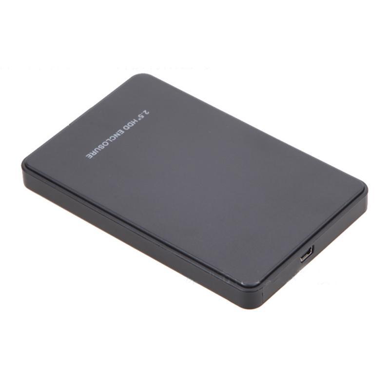 Portátil Caso HDD Fino 2.5 HDD Recinto USB 2.0 Disco Rígido Externo Caso Sata para USB Disco Rígido Drives Caso HDD