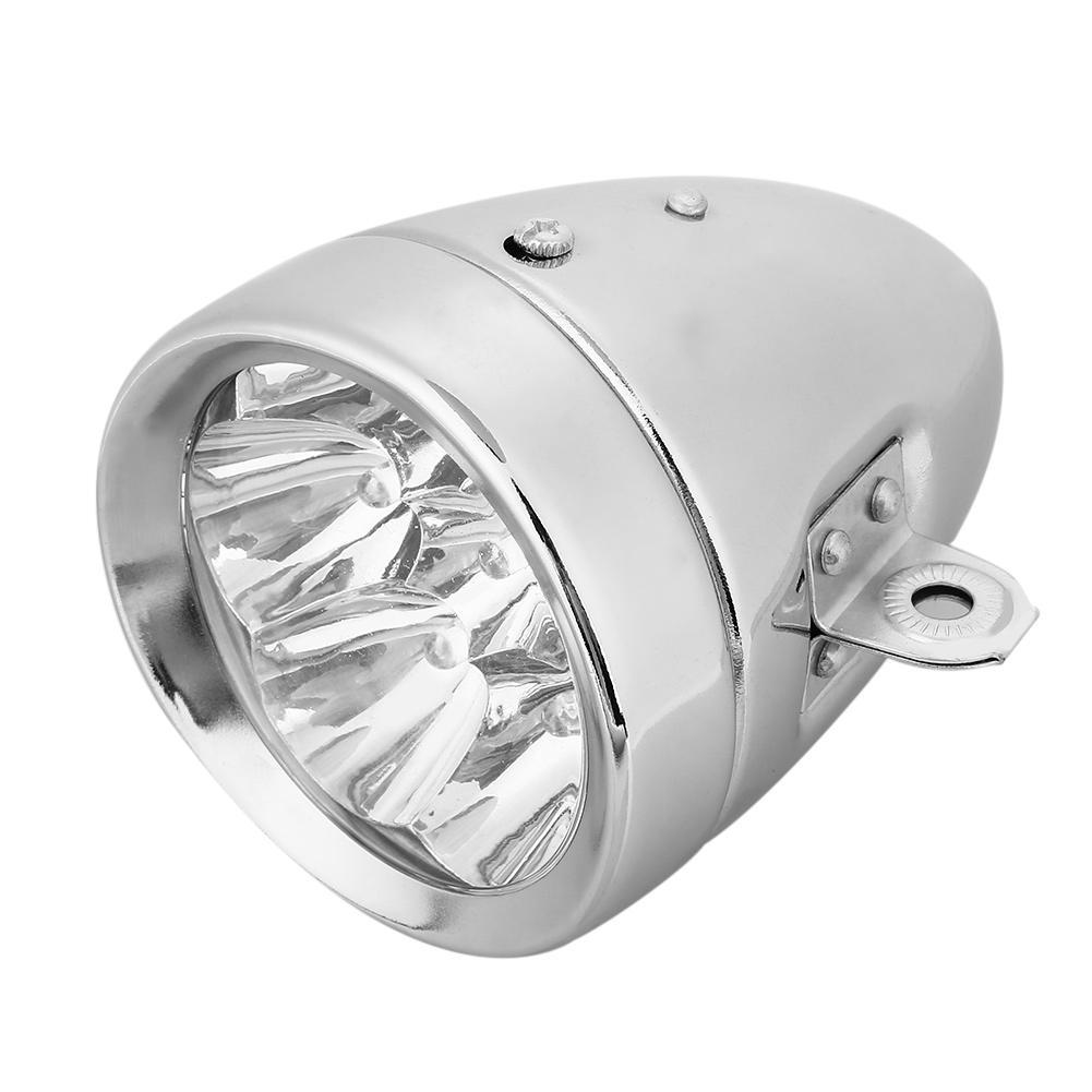 7 rifornimenti LED della bicicletta Retro faro della luce anteriore Ciclismo Accessori