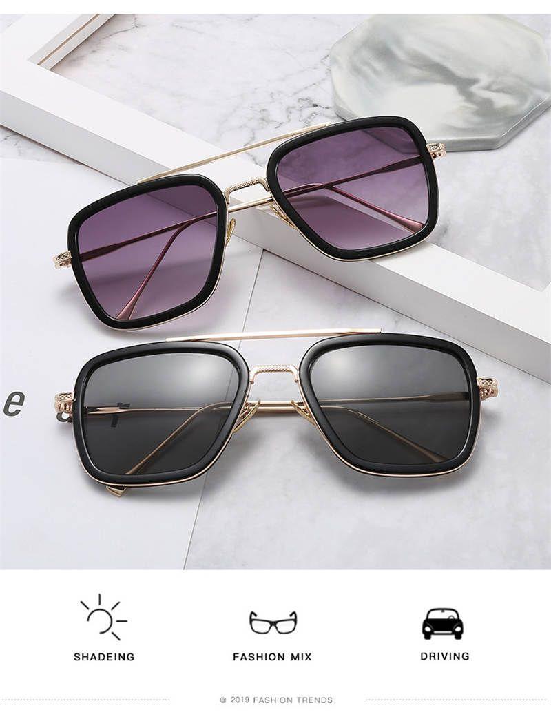 여름 남성 여성 패션 선글라스 여름 남성 여성 펑크 선글라스 UV400 옵션 높은 품질