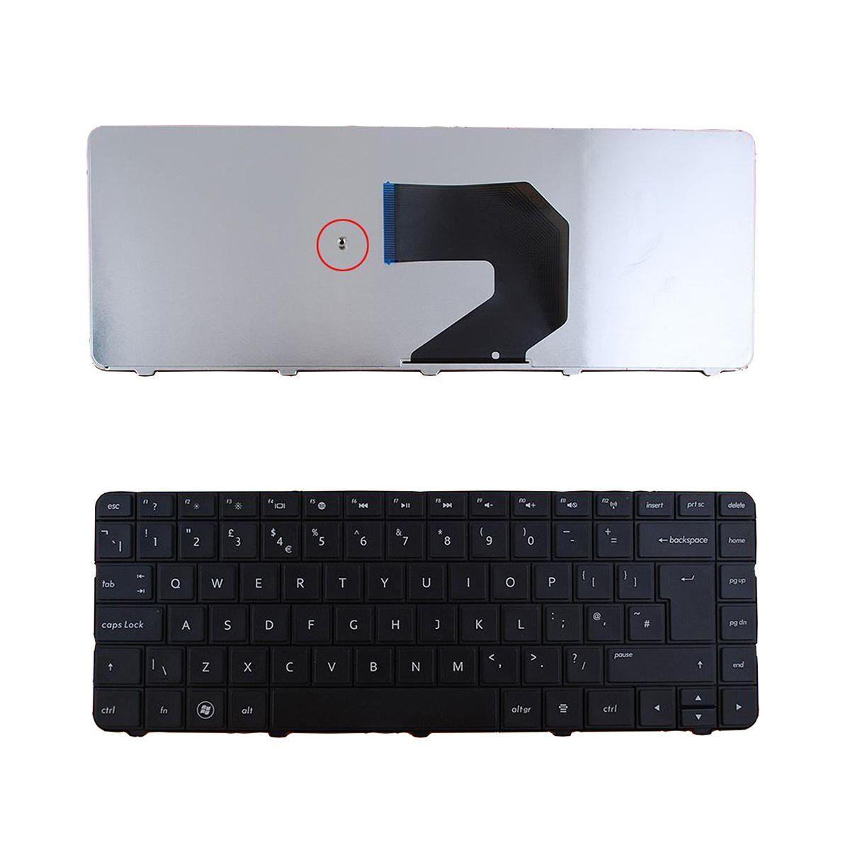 Teclado NOVO UK Para HP Pavilion G4-1000 G6-1000 CQ43 CQ57 430 630S PRETO (com papel alumínio, OEM) UK layout substituir Reparação teclado Keyboard